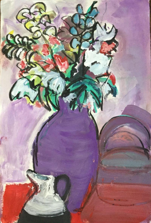purple vase 2018